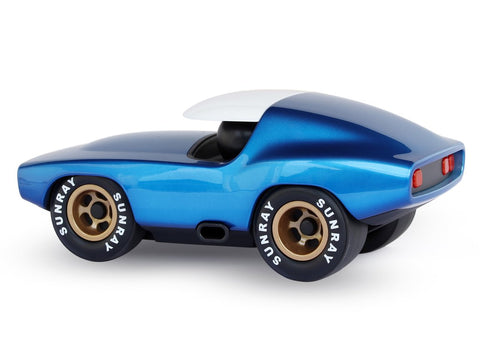 Leadbelly Race Car - Playforever Toy Car - 4 Colour ways