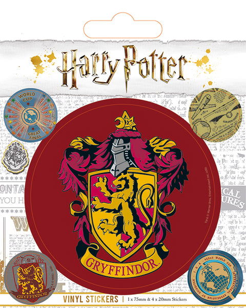 House Stickers -Harry Potter- Gryffindor- Slytherin- Ravenclaw- Hufflepuff