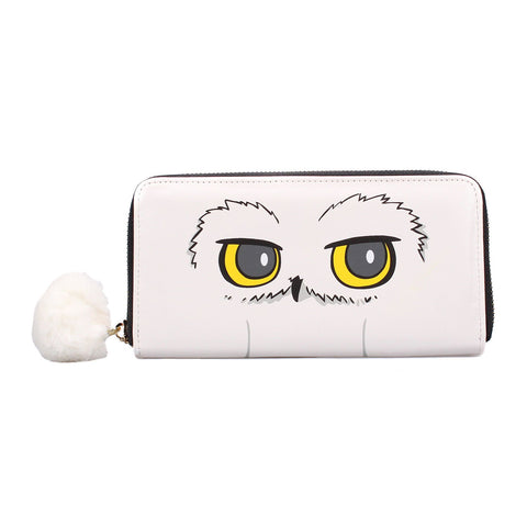 Hedwig Large Purse Wallet with Zip - Harry Potter