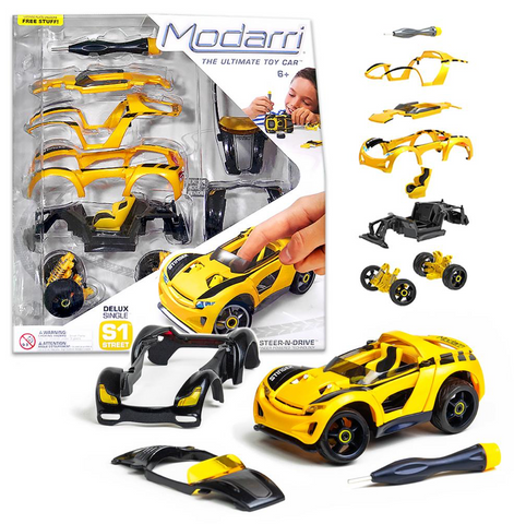 S1 Stinger Car Set - Modarri Toy Cars