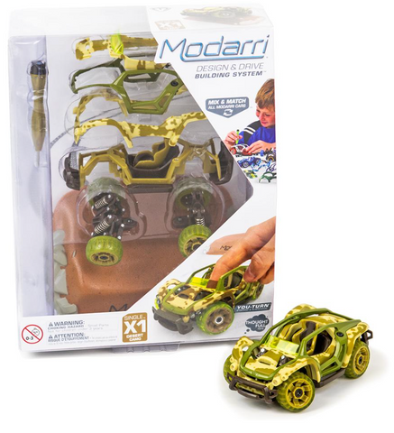 X1 Desert Camo & Dirt Jump - Modarri Toy Car