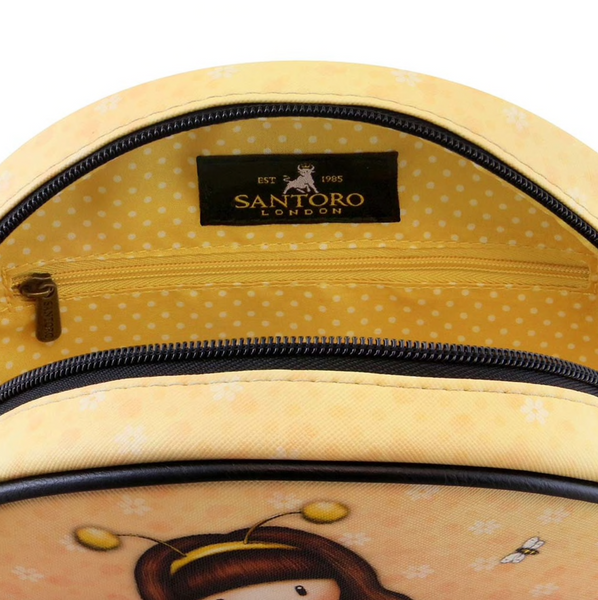 Round Shoulder Bag - Gurjuss by Santoro London