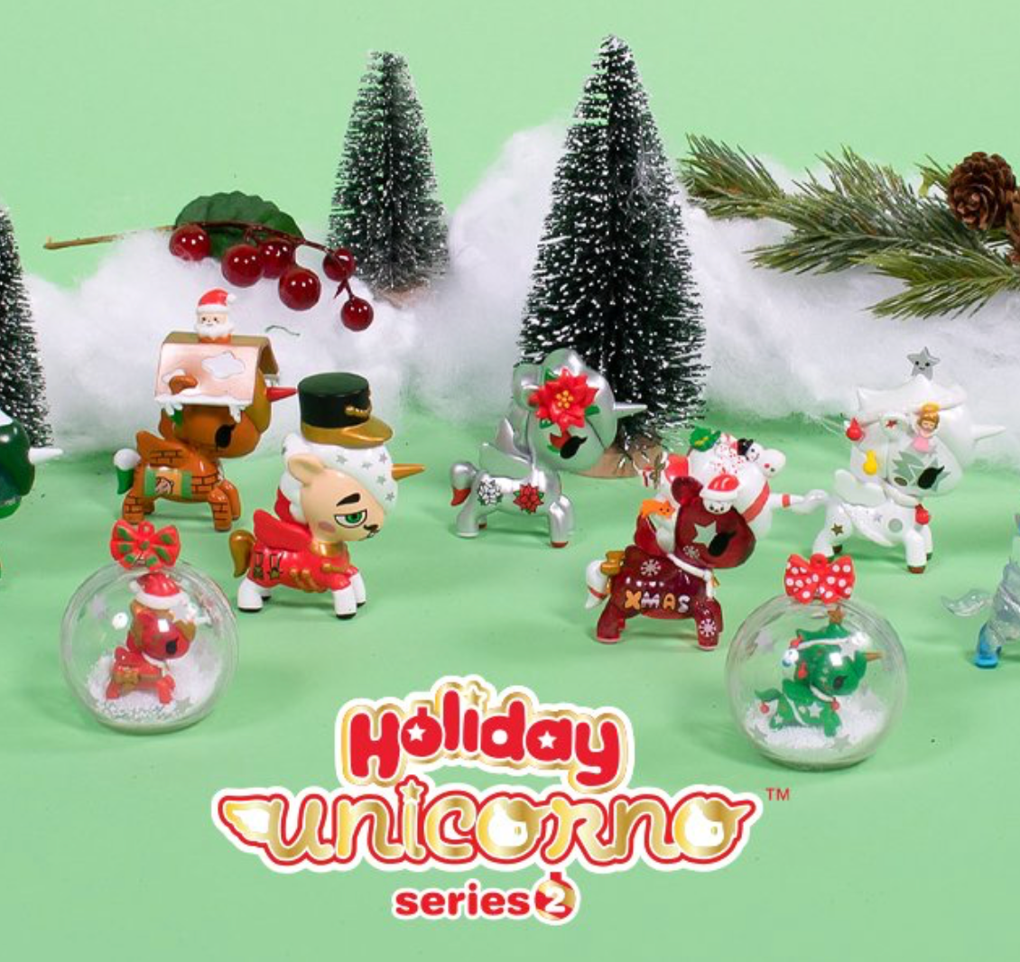 Holiday Unicornos Series 2 - Tokidoki - Blind Box