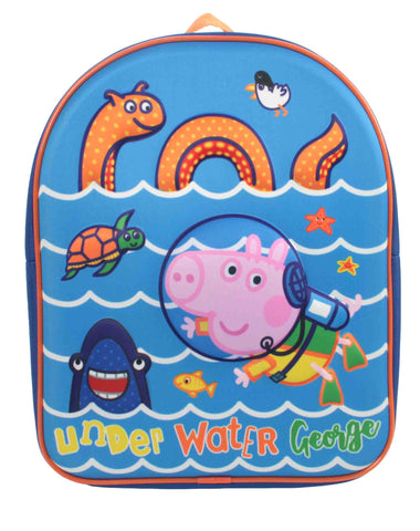 George - Peppa Pig - Texture Relief Backpack