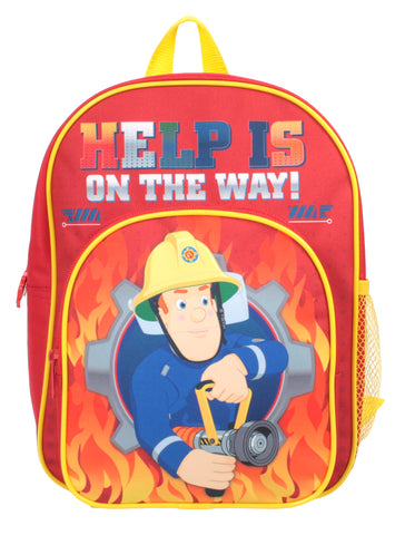 Fireman Sam - Backpack with extra outer pocket