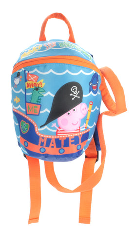 George Pirate from Peppa Pig - Backpack with Reins - Rucksack