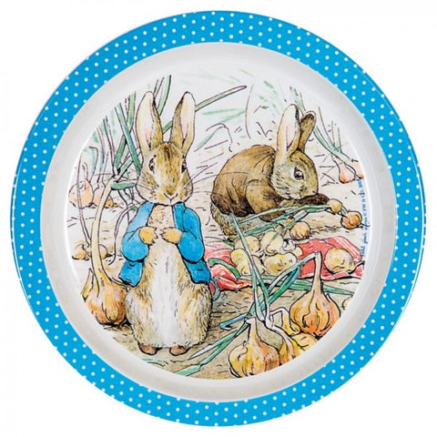 Peter Rabbit Rim Deep Plate