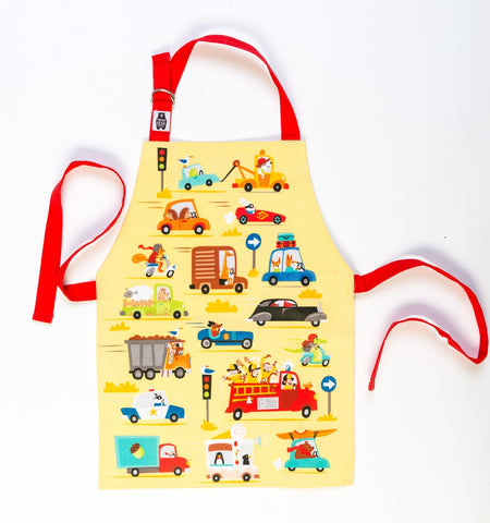 On the Move Apron - Thread Bear Designs