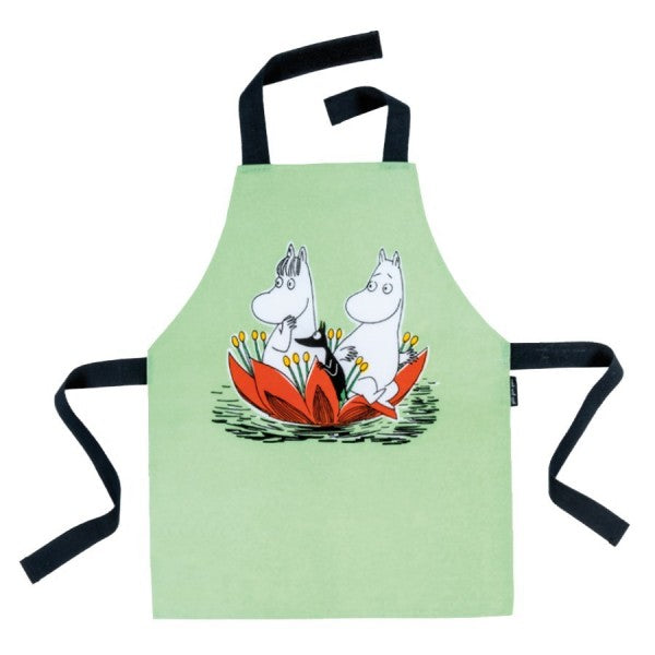 Coated Cotton Aprons with Moomins
