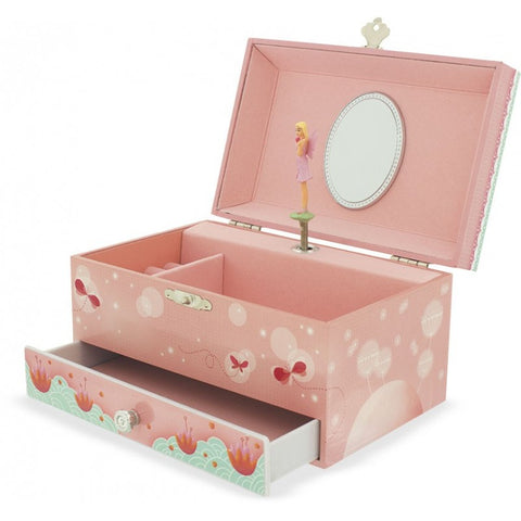 Fairy Musical Jewellery Box with a drawer