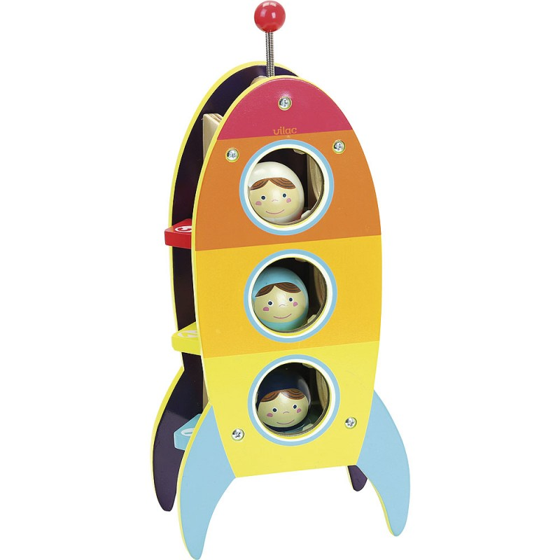 Vilac - Rocket Toy for 18months plus