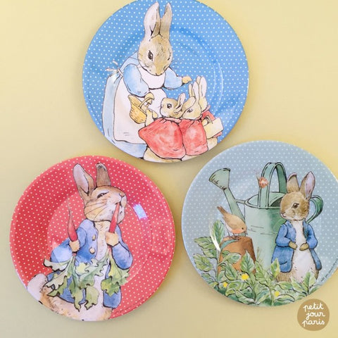 Peter Rabbit Dessert Plate