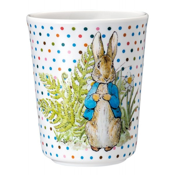 Peter Rabbit Melamine Drinking Cup Beaker - Beatrix Potter