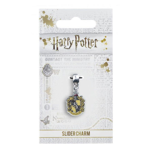 Harry Potter Hufflepuff Crest Slider Charm