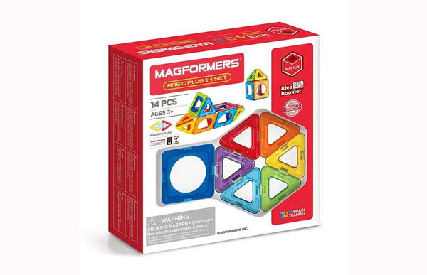 Basic Plus 14pcs - Magformers -