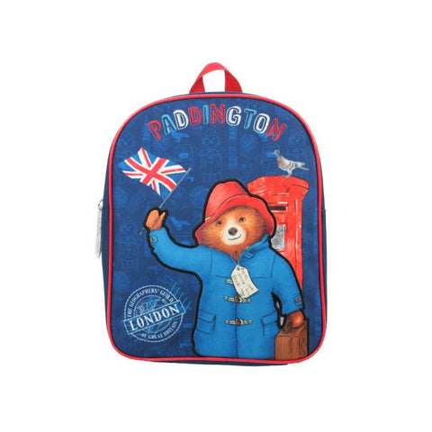 Paddington Bear - Basic Backpack with Union Jack