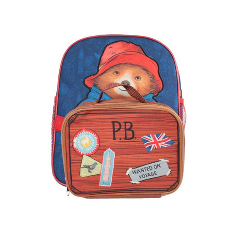 Paddington Bear Backpack with detachable Case/Bag