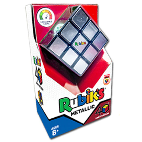 Rubik's 40th Anniversary Special Edition Metallic 3x3 Cube