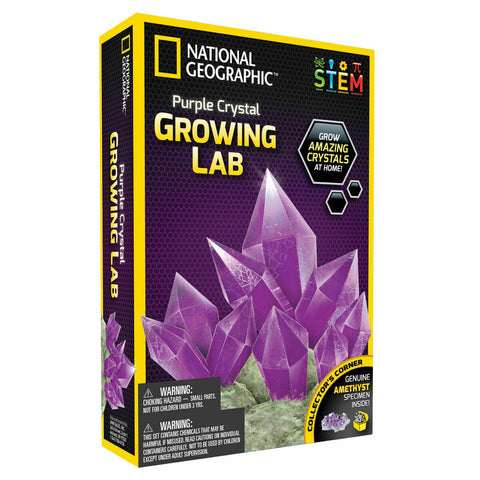 Crystal Growing Kit - NATIONAL GEOGRAPHIC