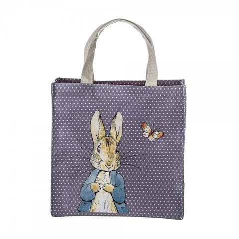 Peter Rabbit Medium Tote Bag with Handles Coated Cotton