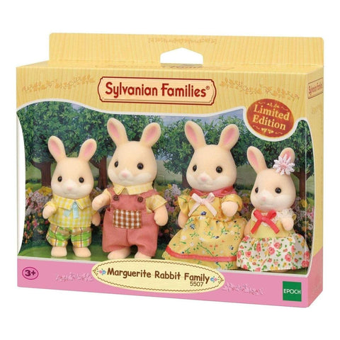 Marguerite Rabbit Family - Sylvanian Families - Limited Edition