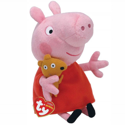 Peppa Pig Beanie Soft Toy - Ty