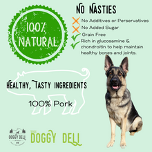Load image into Gallery viewer, Yummy Pig Tails Chew Treats for Dogs 200g - The Doggy Deli