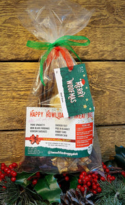 Happy Howliday's Treat Bag - The Doggy Deli
