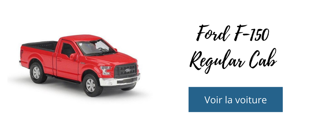 voiture miniature ford f150 regular cab