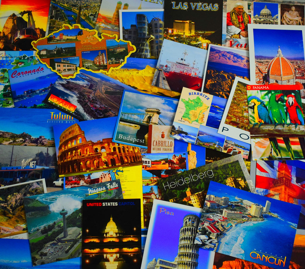 collection carte postale