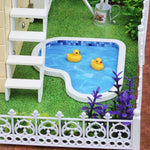 Maison Miniature Grands-Parents Canards