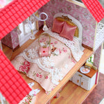 Maison Miniature Grands-Parents Lit