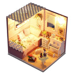 Maison Miniature Chat Musicien | Miniature Land