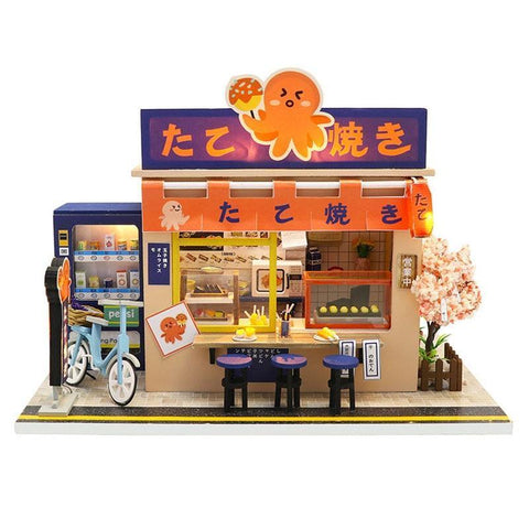 Maison Miniature Fast Food Japonais | Miniature Land
