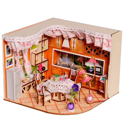 maison miniature kitchenette