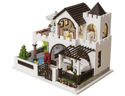 Maison Miniature DIY Manoir