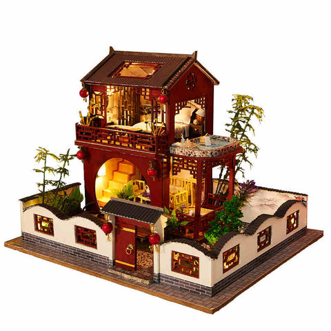 Maison Miniature Pavillon Zen | Miniature Land