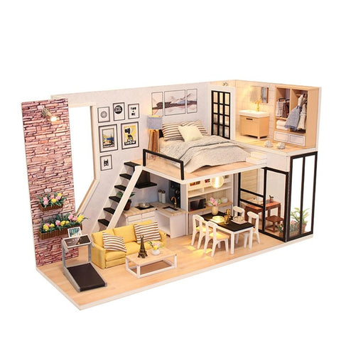 Maison Miniature Salon Moderne | Miniature Land