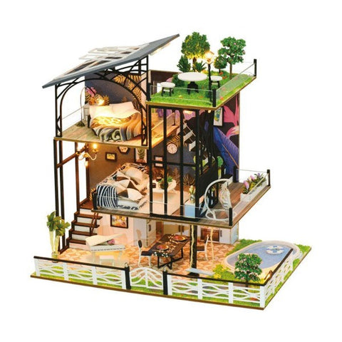 maison miniature villa contemporaine