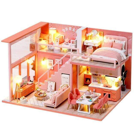 Maison Miniature <br> Princess Bedroom