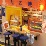 Maison Miniature Fast Food Japonais Bar