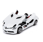 Voiture Miniature Mercedes SLR Stirling Moss Blanc
