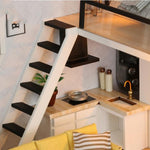 escalier miniature salon moderne