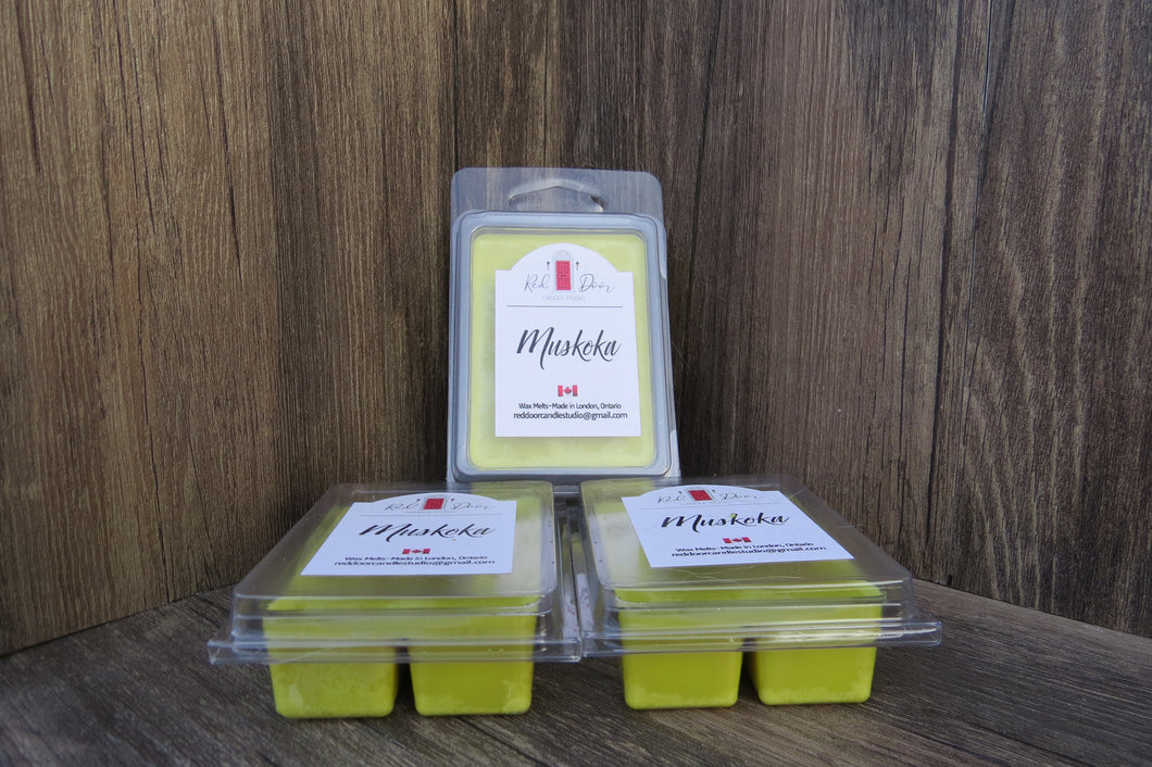 Wax Melts-Muskoka 3 Pack