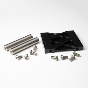 Subframe Centerpiece Tubes and Plate Combo Black