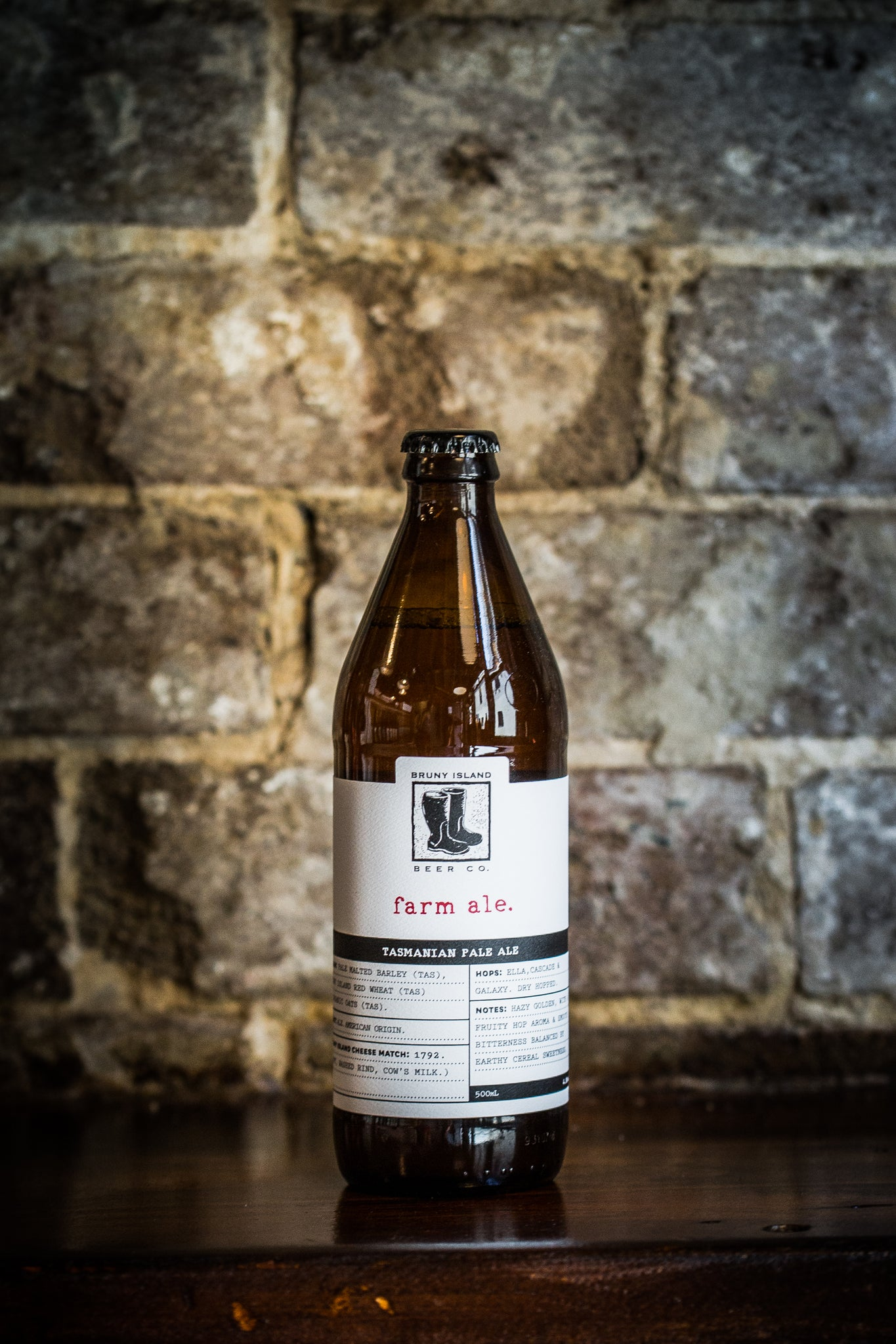 Bruny Island Beer Co. Farm Ale 500ml