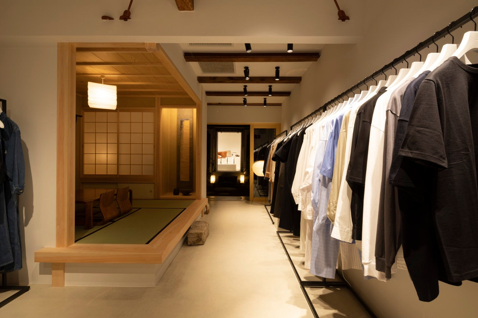 Graphpaper Kyoto 店内