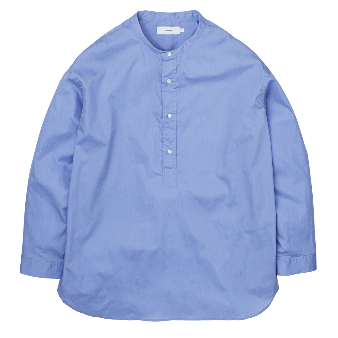 Broad Band Collar Shirt