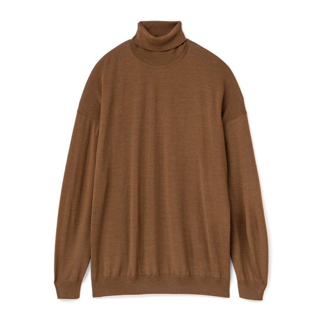 High Gauge High Neck Knit