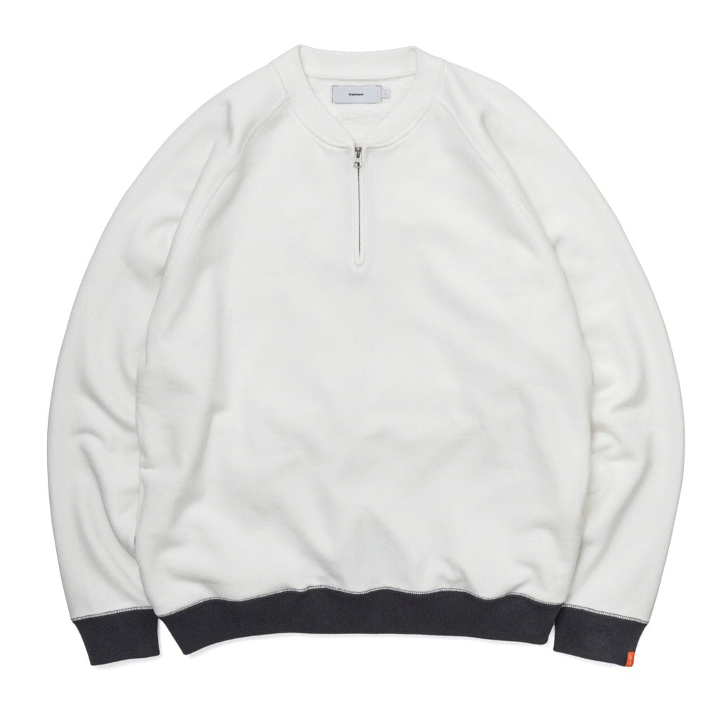 """LOOPWHEELER"" for Graphpaper Half-Zip Sweat"